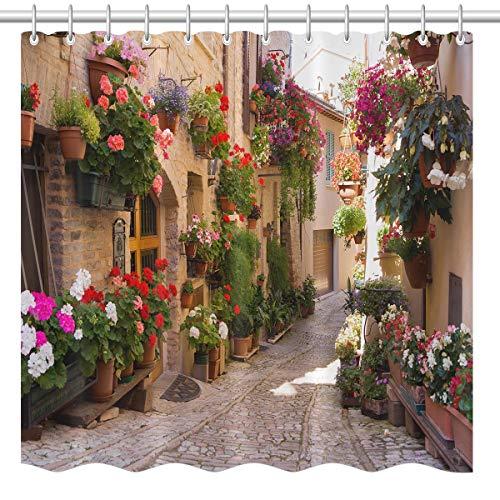 lovedomi Retro Architecture Green Plants European...