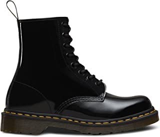 black patent ankle boots uk
