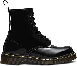 Dr. Martens Womens 1460 W 8-Eye Boot Patent Black - 4 F(M) UK