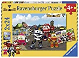 Ravensburger Italia 07822–Robot Trains Puzzle de 2x 24Piezas