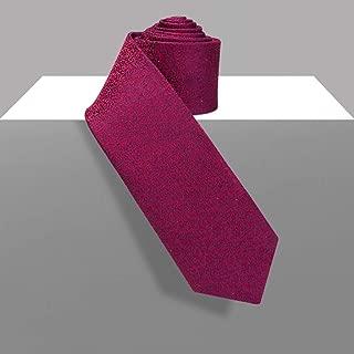 Elegant Men's Fashion Casual Tie Solid Color Tie for Work, Dating, Wedding, 150 × 7cm MSJQQ (Color : E)
