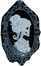 Haunted Mansion Her Cameo Skeleton Halloween Patch Iron on Applique Alternative Clothing