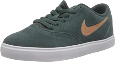 Nike SB Check Suede Ess (GS), Chaussures de Skateboard ...