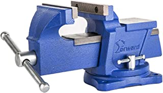 Forward 0806 6-Inch Bench Vise Swivel Base Light Duty with Anvil (6