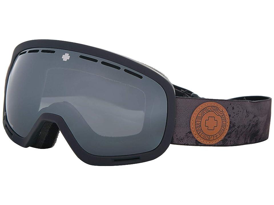 Spy Optic Marshall (Spy+Danny Larsen Happy Gray Green w/ Silver Spectra) Snow Goggles