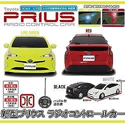 Toyota(トヨタ) PRIUS(新型プリウス) R/C トヨタ自動車株式会社承認済みラジオコントロールカー ブラック