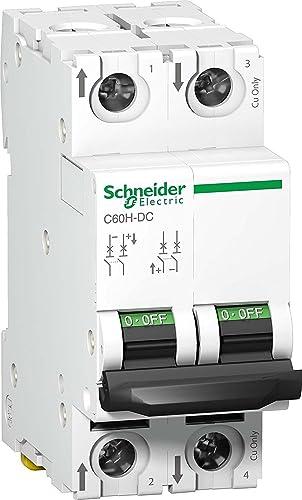 Schneider Solar 32A 2 Pole 500VDC DC MCB
