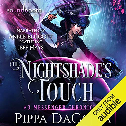 The Nightshade's Touch: A Paranormal Space Fantasy cover art