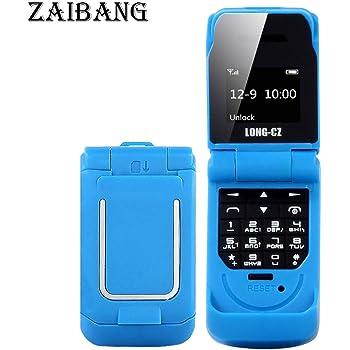 Pequeño Long-CZ J9 Mini Flip teléfono Celular con Cambiador de Voz ...