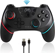 BSD Wireless Switch Pro Controller Gamepad Remote Joystick for Nintendo Switch Console,Supports Gyro and Gravity Sensor, D...