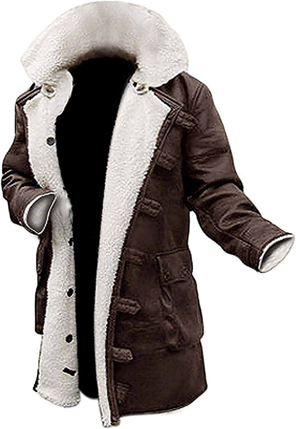 Bomber Jacket Faux Leather Bane Coat Fur with Costume Limited 55% OFF price