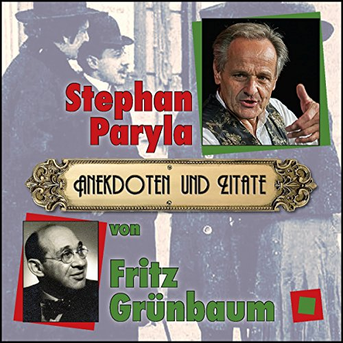 Couverture de Anekdoten und Zitate von Fritz Grünbaum