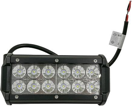 2 St/ück Auxtings LED Arbeitsscheinwerfer 4.2 inch 48W LED Zusatzscheinwerfer 4400LM Auto Scheinwerfer Offroad Flutlicht Spotlight 6000K Wasserdicht IP67 Arbeitslicht 12V 24V