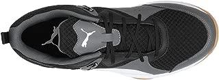 Puma Unisex's Stoker.18 BlackWhiteIronGateGum Badminton Shoes-6 UK/India (39 EU) (4059506475245)