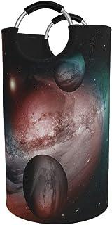 N\A Grand Panier à Linge, Sac à vêtements Folable Fantasy Dust and Gas Nebula, Panier Pliable en Tissu 82L, bacs de Lavage...