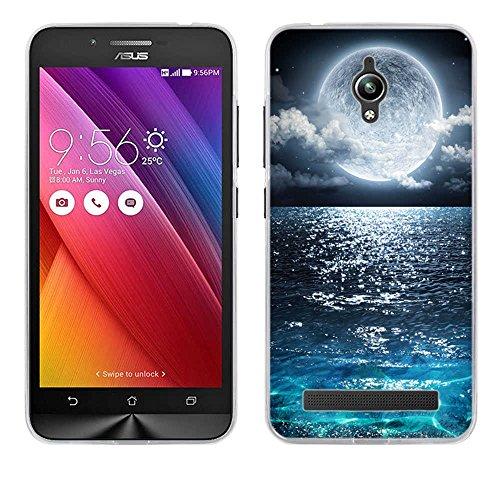 FUBAODA für Asus ZenFone Go ZC500TG Hülle, [Supermond] Handyhülle Silikon für [ für Asus ZenFone Go ZC500TG ] Cover Case Schutzhülle Flexible TPU