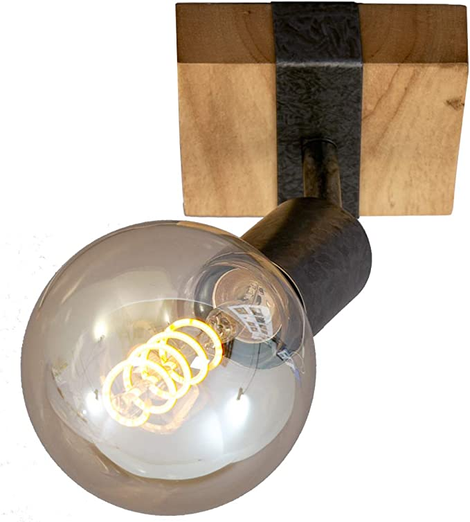13 opinioni per Briloner Leuchten- Lampada da parete, applique, faretto retrò, vintage, girevole