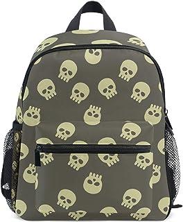 Mochila Infantil Halloween Esqueleto Cabezales Escolar Bolsa de Libros Bolsa de Viaje