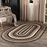 Best Braided Rugs - VHC Brands 45741 Farmhouse Flooring Miller Farm Charcoal Review