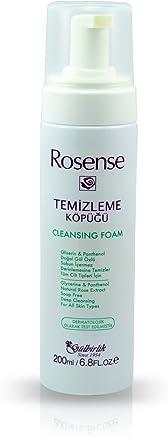 Rosense 洛神诗 玫瑰泡沫洗面奶200ml(进)