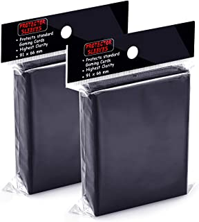 200 Counts Top Loaders Card Sleeves for Trading Card, Penny Sleeves Deck Protectors Compatible with Pokemon Card, Baseball...