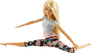 Barbie Made to Move Doll 1 (blonde original) FTG80_FTG81