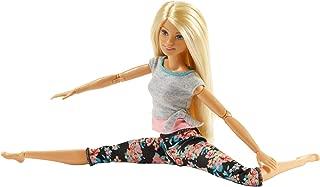 Barbie Made to Move Doll 1 (blonde original) FTG80_FTG81
