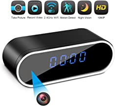 Hidden Camera Clock Spy Camera WiFi Wireless Full HD 1080P Security Camera Night Vision..