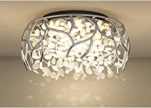 Ceiling light Modern Ceiling Lights Round Lighting Fixture With Hand Crafted Glass Bead for Kitchen Restaurant Cafe Dining...