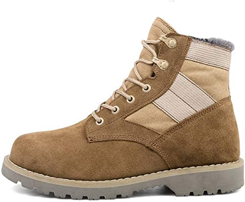 FMWLST Bottes Bottes Bottes Bottes d'hiver pour Hommes Bottines pour Hommes avec des Bottes Martin Chaussures pour Hommes 181