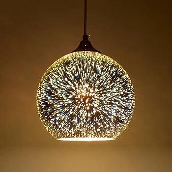 Modern 3d Multicolor Creative Glass Ceiling Lights Lamp Shade Chandelier Minimalist Art Pendant Lights Style B Amazon Co Uk Lighting
