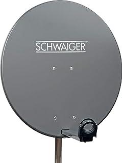 Schwaiger SPI996.1 Stahl SAT Spiegel, (Durchmesser 85 cm)
