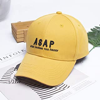 TIMWIL Women Baseball Cap Unisex Embroidery Peaked Caps Summer Sun Protection Caps for Teens