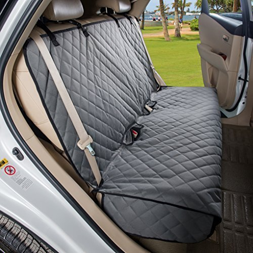 VIEWPETS Bench Car Seat Cover Protector - Waterproof, Heavy-Duty and Nonslip Pet Car Seat Cover for Dogs with Universal Size Fits for Cars, Trucks &...