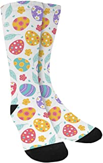 Funny Novelty Printed Crew Socks for Mens Womens