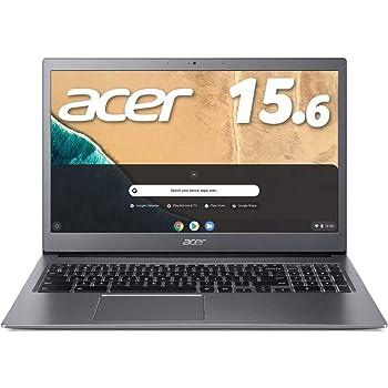 【Amazon.co.jp 限定】Acer ノートパソコン Chromebook クロームブック 15.6型フルHD液晶 CB715 スティールグレイ グーグル Google CB715-1WT-A38P/E