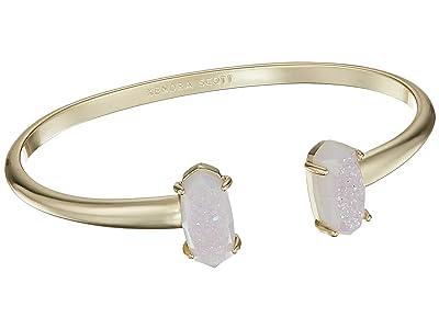 Kendra Scott Edie Bracelet (Gold/Iridescent Window Drusy) Bracelet