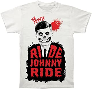 WHI-TS The Misfits Ride Johnny Ride Print Men's Fitted Cotton Shirt Inspired Funny Tees