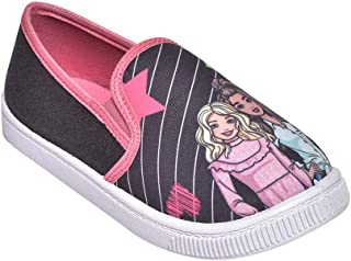 Hopscotch Toothless by Purple United Girls Synthetic Barbie Kids/Canvas Shoes in Multi Color