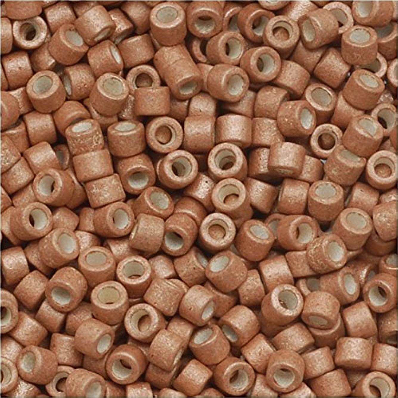Miyuki Delica Seed Beads 11/0 Galvanized Matte Muscat 7.2 Gram DB1165