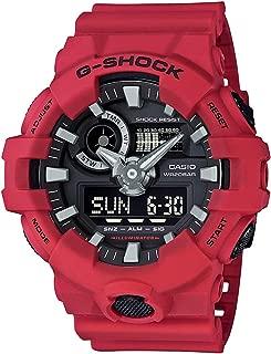 Casio Mens Quartz Watch, Analog-Digital Display and Resin Strap GA-700-4A