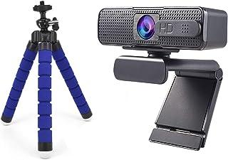 غطاء كاميرا الويب For H701 Full HD Webcam 1080P Autofocus Webcam, With Microphone AF Camera Real-time Video Teaching Webca...