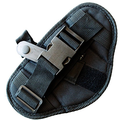BEST CAR GUN HOLSTER For Vehicles & Trucks - Works Great for 1911, Revolvers, Pistols, & Hand Guns - Universal Fit for Glock, Springfield, Taurus, MTAC, Kimber, Walther,Beretta, Ruger, Colt, & More!