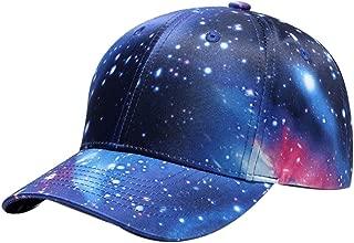 Unisex Thrasher-Logo Galaxy Hip Hop Hysteresenhut mit Flacher Krempe Baseball Caps Blau
