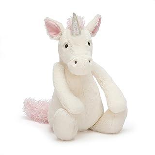 Jellycat Bashful Unicorn Stuffed Animal, Medium, 12 inches