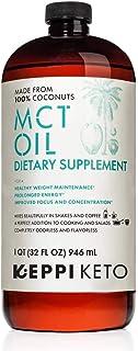 KEPPI KETO - MCT Oil Organic Non GMO MCT Coconuts to Fuel You All Day - Keto & Paleo Diet Friendly - Coffee Shakes & Salad...