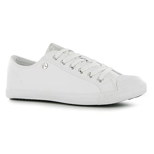 newest collection bright n colour best loved Womens White Pumps: Amazon.co.uk