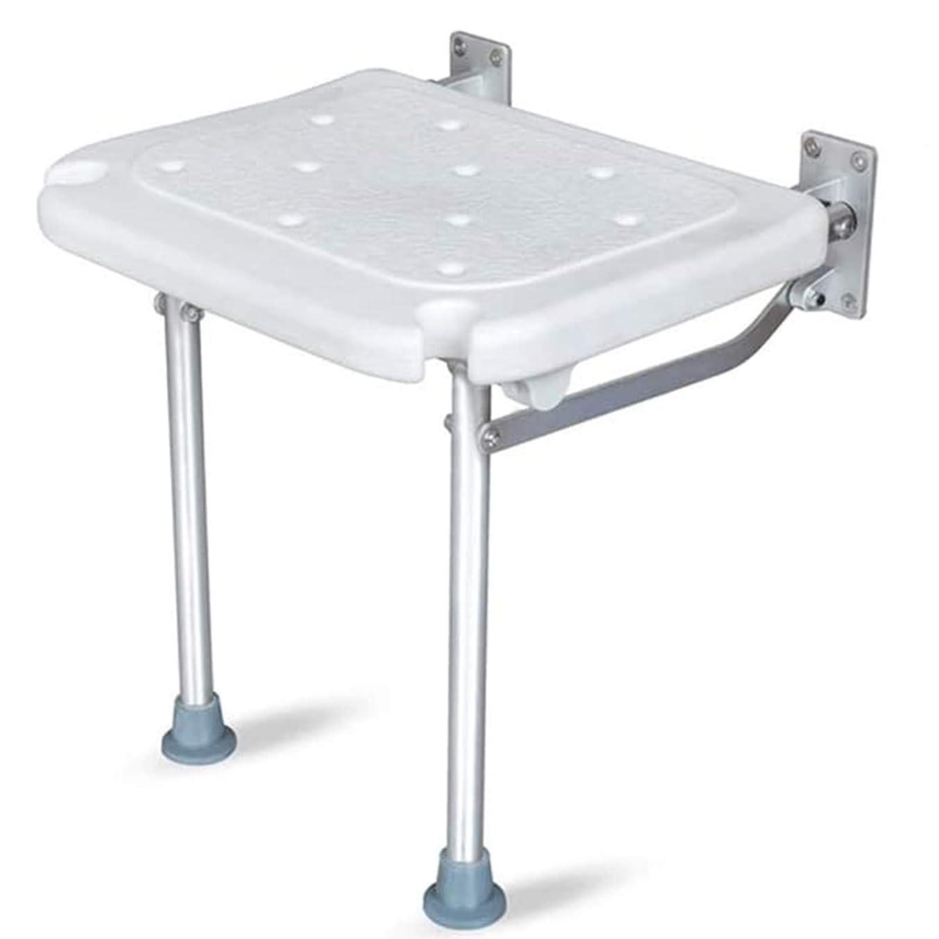 食事まともな月面折りたたみ式シートシャワーチェア壁掛け式バススツール