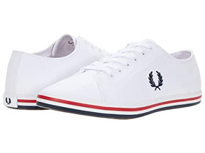 Fred Perry Kingston Twill (White) Men