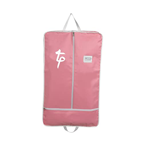 fa200c494a Tappers and Pointers Costume Carrier Garment Bag Dance Gymnastics 3 Colours  (Pink with White Trim